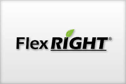 FlexRight is a radius forming brace designed to shape any flexible duct (residential or commercial) into a smooth and efficient 90 degree elbow.